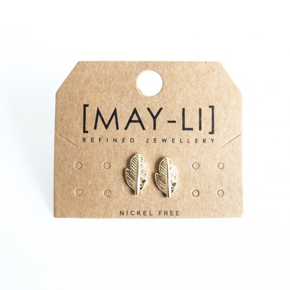feather, Feather Earring, mayli-jewels.com