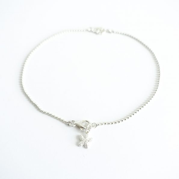 Summer anklet with starfish