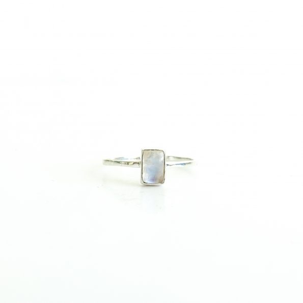 Rainbow Moonstone rectangle