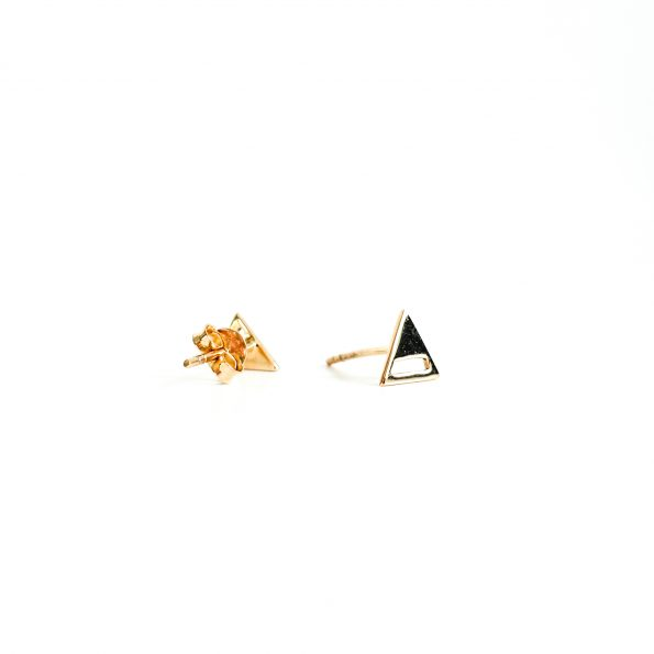 Triangle open gold