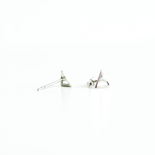 earparty, Triangle studs half open – ear studs, mayli-jewels.com