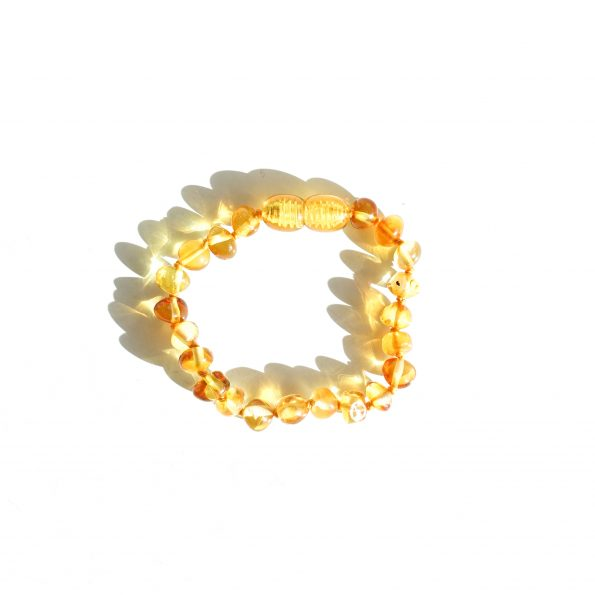 honey barnsteen bracelet teething