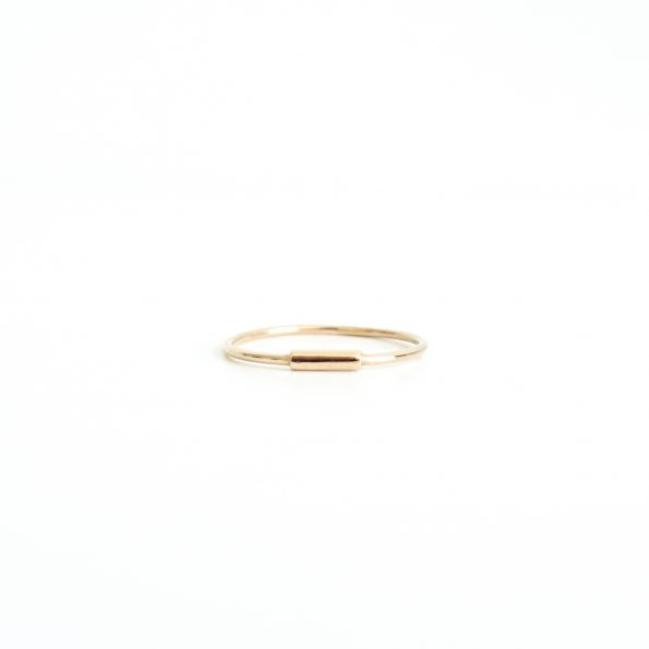 Bob dainty little minimal ring sterling silver